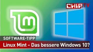 getlinkyoutube.com-Linux Mint – Das bessere Windows 10? – Software-Tipp   CHIP