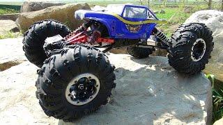 getlinkyoutube.com-RC ADVENTURES - Rock Crawling - Tips, Tricks, Dig & MOA (Axial XR10 - Radio Control Truck)