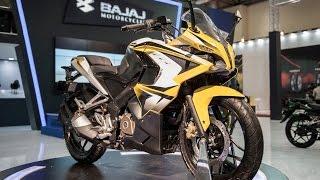 Bajaj Pulsar 200 SS, 150 NS, and Boxer 150 Cafe Racer at 2015 Turkey Motor Show