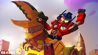 getlinkyoutube.com-Angry Birds Transformers: New Map New Character Galvatron Discover