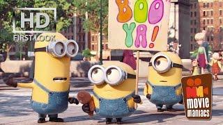 getlinkyoutube.com-Minions | FIRST LOOK clip (2015) Stuart Kevin Bob Despicable Me
