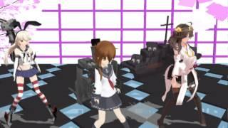getlinkyoutube.com-千本桜 歌詞つき(艦これMMD) HD