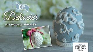 getlinkyoutube.com-DIY Osterdeko basteln: edle Deko-Ostereier selber machen | Deko Kitchen