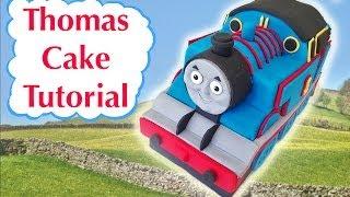 getlinkyoutube.com-Thomas Train Birthday Cake HOW TO COOK THAT Ann Reardon 3D fondant