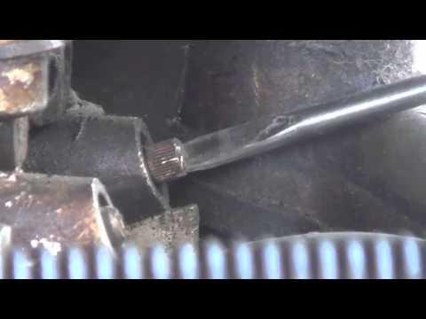 ГАЗ-66. Регулировка ХОЛОСТОГО ХОДА. V-образный двигатель.