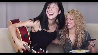 Shakira - Hips Dont Lie (Cover) by Daniela Andrade ft. Shakira