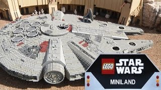 getlinkyoutube.com-LEGO STAR WARS MINILAND at LEGOLAND California! Full Overview in 1080p HD