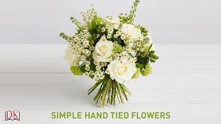 getlinkyoutube.com-Flower Arrangement Tutorial: Simple Hand Tied Flowers