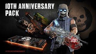 Gears of War 4 - Tenth Anniversary Gear Pack DLC Teaser