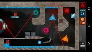 getlinkyoutube.com-Laserbreak Level 23 Walkthrough - GamesSolvers