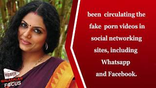 getlinkyoutube.com-Asha Sharath Fake Video Clip, Culprits arrested | Malayalam Movie Gossips