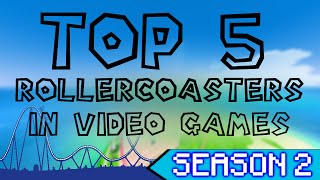 getlinkyoutube.com-Top 5 Rollercoasters (with SteliosSeven) | MJS Gaming Season 2