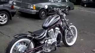 getlinkyoutube.com-1986 VS700 Intruder Bobber