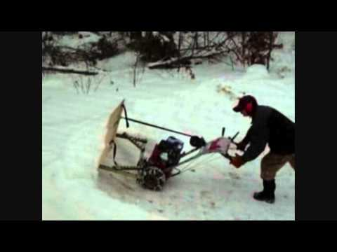 Do It Yourself Homemade Snow Plow