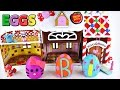 PLAY DOH EGGS - Kinder Surprise Egg Candy Shop Furby TMNT HelloKitty MLP Clickets Princess Pets