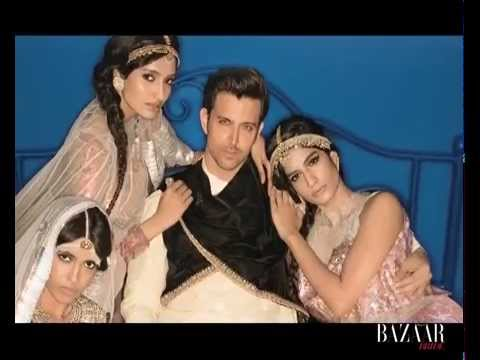 Dashing as ever Hrithik Roshan shoots for Harpers Bazaar