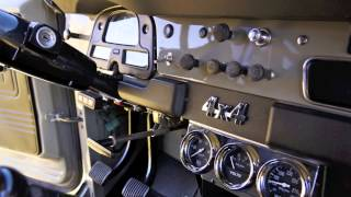 getlinkyoutube.com-1976 Toyota Land Cruiser FJ40 with Cummins 4BT   Cab noise test and pictures