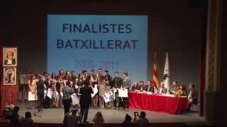 Finalistes Batxillerat La Salle Mollerussa 2011