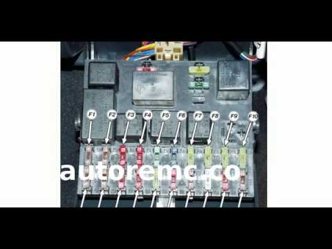 Схема предохранителей на ВАЗ 2110, 2111, 2112 - инструкция