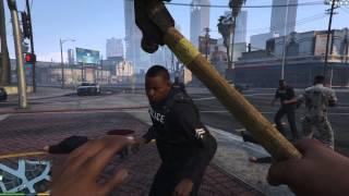 getlinkyoutube.com-Grand Theft Auto 5 - Bodyguards vs Police