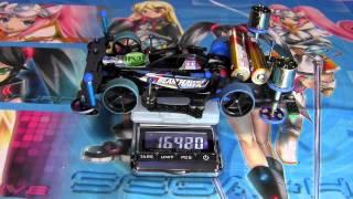 getlinkyoutube.com-Tamiya Mini4wd - for Japan Cup 2014 Machine (Fujiyama Changer)(AR Chassis)