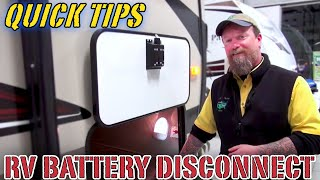 How to Use an RV Battery Disconnect Switch | Pete's RV Quick Tips