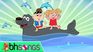 getlinkyoutube.com-Hokey Pokey lyrics with lead vocal   Nursery Rhymes TV for Kids   Ultra HD 4K Music Video Full