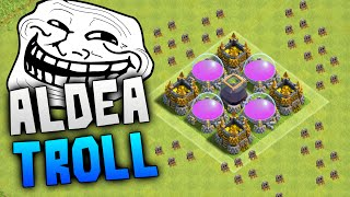 getlinkyoutube.com-LA MEJOR ALDEA TROLL DE CLASH OF CLANS