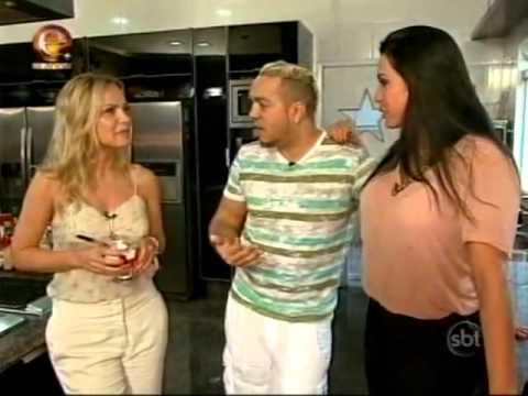 Eliana visita a casa de Belo e Gracyanne