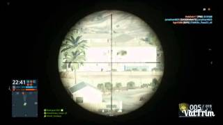 getlinkyoutube.com-Battlefield© Hardline: long-Range-Sniping! (Gameplay)