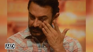Aamir's EMOTIONAL speech for Dangal