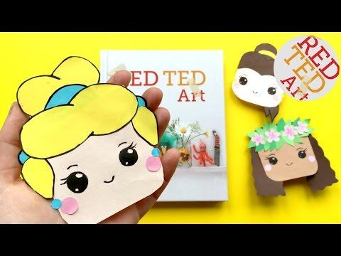 Cinderella Bookmark DIY - Disney Princess Corner Bookmark DIYs