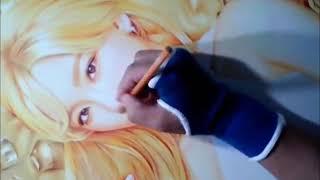 getlinkyoutube.com-박기철님그림♥Kim tae yeon Drawing