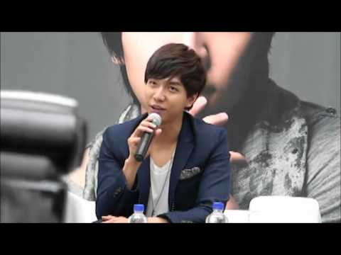 Lee Seung Gi Press conference  at Marina Square Shopping Mall in Singapore 24.08.2012