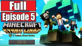 getlinkyoutube.com-Minecraft Story Mode Episode 5 Gameplay Walkthrough Part 1 FULL EPISODE w/Ending 5 - No Commentary