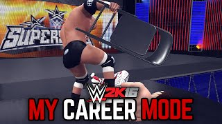 "getlinkyoutube.com-WWE 2K16 My Career Mode - Ep. 34 - ""BLOODY WAR!!"" [WWE MyCareer PS4/XBOX ONE/NEXT GEN Part 34]"