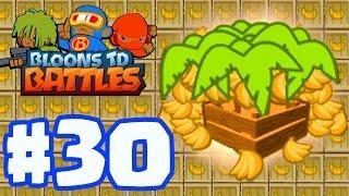 getlinkyoutube.com-THOUSANDS OF BANANAS! THE MOST BANANA FARMS EVER! | Bloons TD Battles Gameplay Part 30 (BTD Battles)