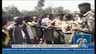 getlinkyoutube.com-IPOA moves to court to have recent police recruitment exerciser nullified