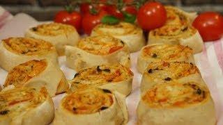 getlinkyoutube.com-Recette facile des Pizza Rolls pour l'apéritif