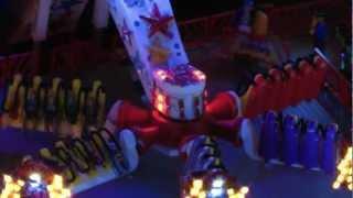 getlinkyoutube.com-Faller Kirmes Test LED Beleuchtung für Ausstellung