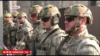 getlinkyoutube.com-Рамзан Кадыров и Рустам Минниханов побывали на открытии стрелковых галерей