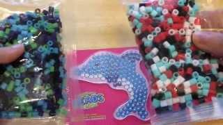 Il mio primo Hama Beads con Shokky Bandz Beads Fusion (DELFINO)