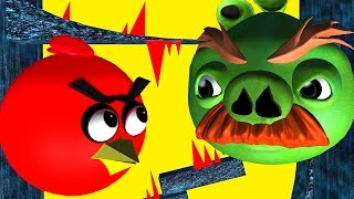 getlinkyoutube.com-ANGRY BIRDS in IMPOSSIBLE CAVES  ♫  3D animated game mashup  ☺ FunVideoTV - Style ;-))
