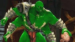 getlinkyoutube.com-Mortal Kombat 9 BOSS HULK Goro -  Ladder on Expert
