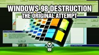 getlinkyoutube.com-[Vinesauce] Joel - Windows 98 Destruction (sort of)