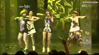 2NE1  Doo Wop(cl) *Get Right(dara) * Crazy in Love(bom) * Sexy Back*(minzy)