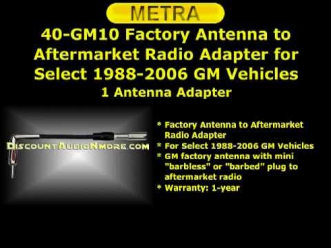 40-GM10 $10.95 Free Shipping Antenna to Radio Adapter Cable 40gm10 40 gm10