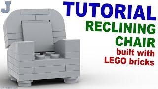 getlinkyoutube.com-Tutorial - Lego Reclining Chair [CC]