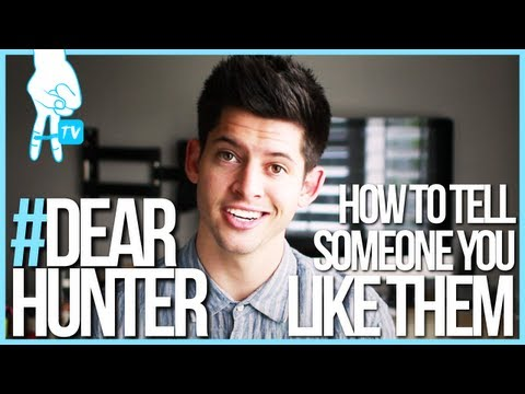 How do you tell a guy you like him? #DearHunter - Ep. 1