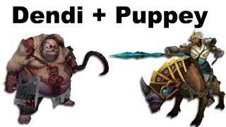 getlinkyoutube.com-Dendi Pudge Puppey Chen fountain hooking - NaVi vs TongFu - Dota 2 #ti3
